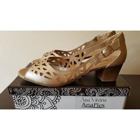Calçados Tamanhos Grandes Anaflex Tam 42 Ref 64172