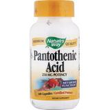 Acido Pantotenico O Vitamina B5 100 Capsulas 250mg Importada