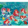 Kit Imprimible La Sirenita Disney Princesas Candy Golosinas