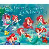 Kit Imprimible La Sirenita Disney Princesas Candy Golosinas