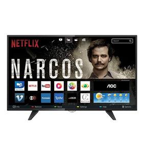 Smart Tv Led 32 Aoc Le32s5970 Hd Com Wi-fi 2 Usb 3 Hdmi