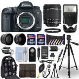 Kit Canon 7d Mark Ii Dslr Con 3 Lentes Mochila Y Accesorios