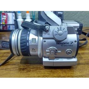 Camera Fotografica Minolta Dimage 7xi - Só Pra Quem Conhece