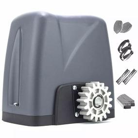 Kit Motor Portão Deslizante Dz Nano 36 Turbo Com Cremalheira