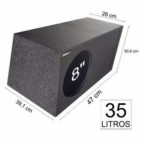 Caixa P/ Dd1508 800w Dutada Pelego Box Mdf-18mm 35 Litros