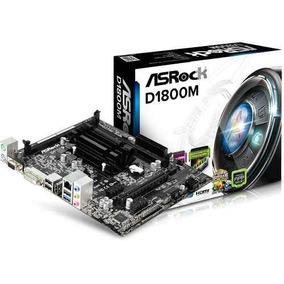 Combo Intel Dual Core J1800 + Asrock D1800m Nuevo Bagc