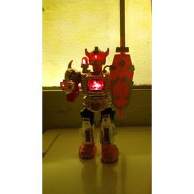 Robot De Combate Del Espacio Nuevo Con Luces Led Tipo Retro