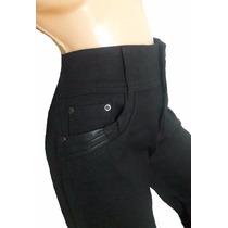 Pantalón Modelador C/cintura Faja-adhiere Como Calza T44/56
