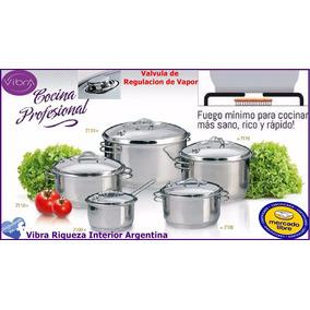 Olla Gran Chef Vibra Acero Quirúrgico 9,300 Lts.(cod 7120)