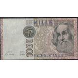 Italia 1000 Liras 6 Ene 1982 P109a