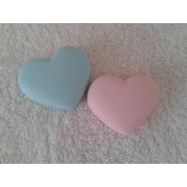 Sabonete Artesanal Mini Coração Pacote Com 25 Unidades