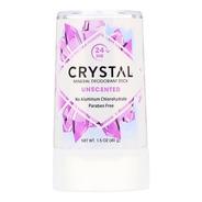 Desodorante Mineral Crystal Em Pedra, Sem Perfume 40g