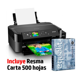 Impresora Epson L810 Ecotank Fotográfica + Resma Epson