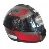 Capacete Peels Spike Red Nose Preto N°58