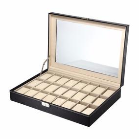 Relojes 24 Piezas Caja Joyeria Organizador Alhajero
