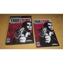 Ps2 True Crime Streets Original Black Label Completo Confira