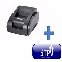 Miniprinter Impresora Tickets Usb + Software Punto De Venta