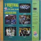 1º Festival Do Tio Sam Club Lp Samba Pagode Swing Vol 2