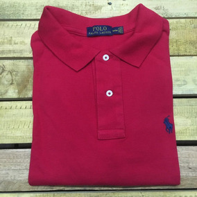 f4566dc1af Camisa Polo Ralph Lauren Custom Fit Vermelho Promoção