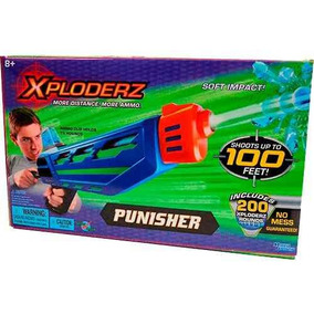 Pistola De Jugete Xploderz Punisher Paintball Fácil Lavado