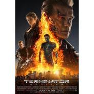 Poster  Original Cine: Terminator Génesis (motivo 3)
