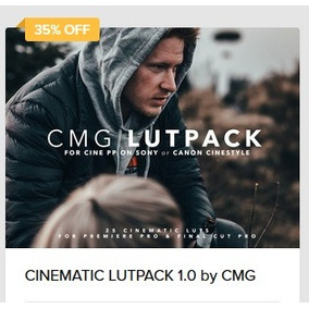 Pacote Cinematic Lutpack 1.0 By Cmg Christian Mate Grab