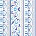 nº 028 Arabesco Azul e Cinza Claro