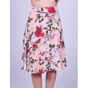 Saia Feminina Florida Voga Plus 7207 - Asya Fashion