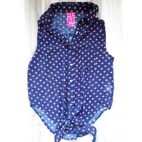 Camisa Musculosa De Mujer Transparente Violeta - Talle S