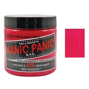 Manic Panic Semi-permament Haircolor Red Passion 4 Ounce Jar