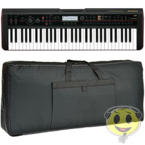 Teclado Korg Kross 61 Workstation + Fonte + Gig Bag Kadu Som