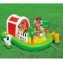 Piscina Playground Fazendinha Intex Bebe Criança Infantil