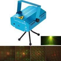 Mini Led R & G Proyector Láser Ajuste De Iluminación