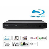 Dvd Blu Ray Player Lg 3d Bp450, Full Hd, Smart Tv,entrada U.