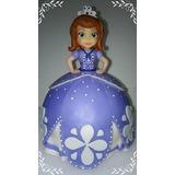 Princesita Sofia- Adornos Para Torta-porcelana Fria