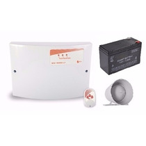 Central De C. Elétrica Gcp 10000 Cr + Bateria 12v7a + Sirene