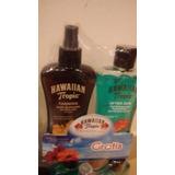 Aceite Bronceador Hawaiian Tropic Y Gel Refrescante. Últimos