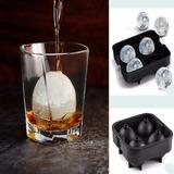 Fôrma Gelo Esfera Bola Grande Whisky Vodca Bebida Drink Ice