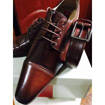 Sapato Social Fascar Novo 42 + Cinto