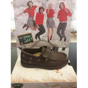 Zapato Colegial Cavatini Abrojo 20-0332 26 Al 34
