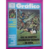 El Grafico N° 2861 Año 1974 Poster Boca Clay Foreman Bochini