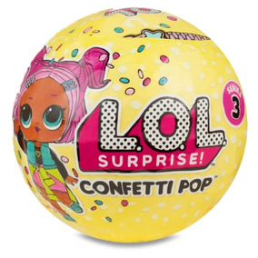 Boneca Lol Surprise Confetti Pop Series 3 Frete Grátis Linda