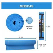 Colchoneta Yoga Mat Gimnasio Pilates Estampada 6mm Drb®