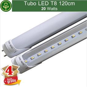 (kit 4 Piezas) Tubo Led T8 20w 120cm 1.2m 4ft - 2100lm