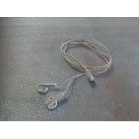 Audífonos Universales Blancos Audio Plus Plug 3.5 Mm Nuevos