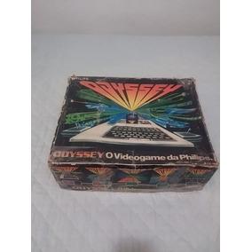 Philips Odyssey. Revisado, Com 19 Cartuchos E Saída Rca