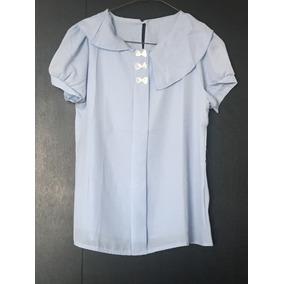 Hermosa Camisa ¿ Azul Celeste Importada