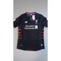 Jersey Liverpool Football Club 2016-17 Visitante Manga Corta