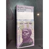 Fajo De 1000 Bolivares 100 Billetes Nuevos