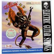 Cuerda 3 Rd Para Guitarra Elec. Alice (paquete 10 Pzas)